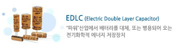 EDLC (Electric Double Layer Capacitor)